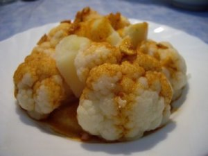 colifor con patatas