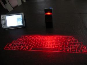 teclado proyectado