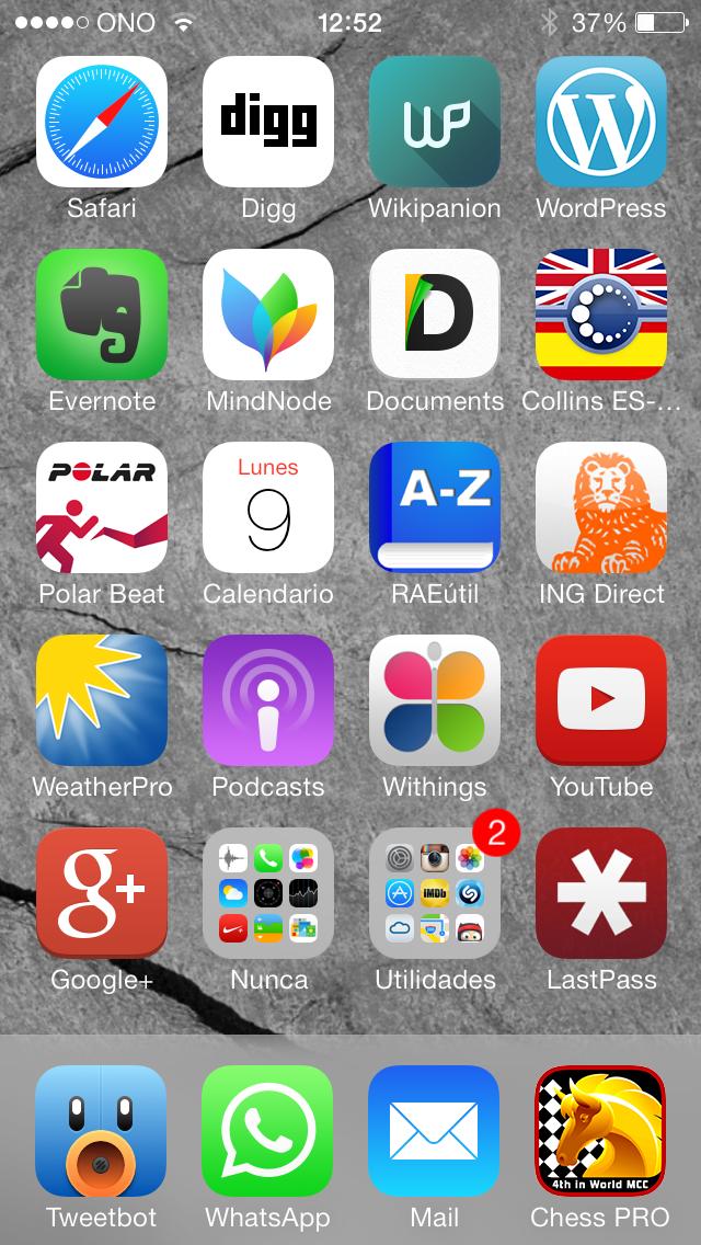 Tener menos app en el tel fono para utilizarlo m s telar for Aplicaciones para decorar el movil