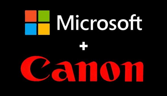 canon-microsoft