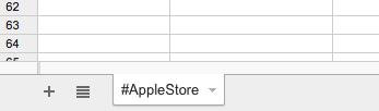 En este ejemplo buscaremos tuits que mencionen a las Apple Store