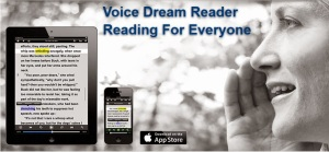 Voice Dream app