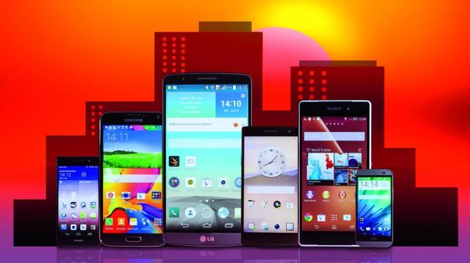 Distintos tipos de Smartphones