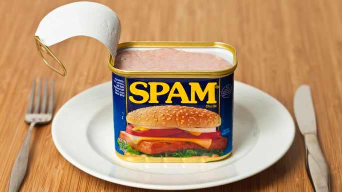 Lata de Spam