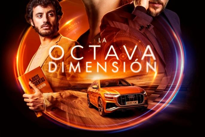Cartel del anuncio La octava dimensión