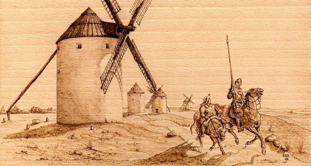 Ilustración de El Quijote