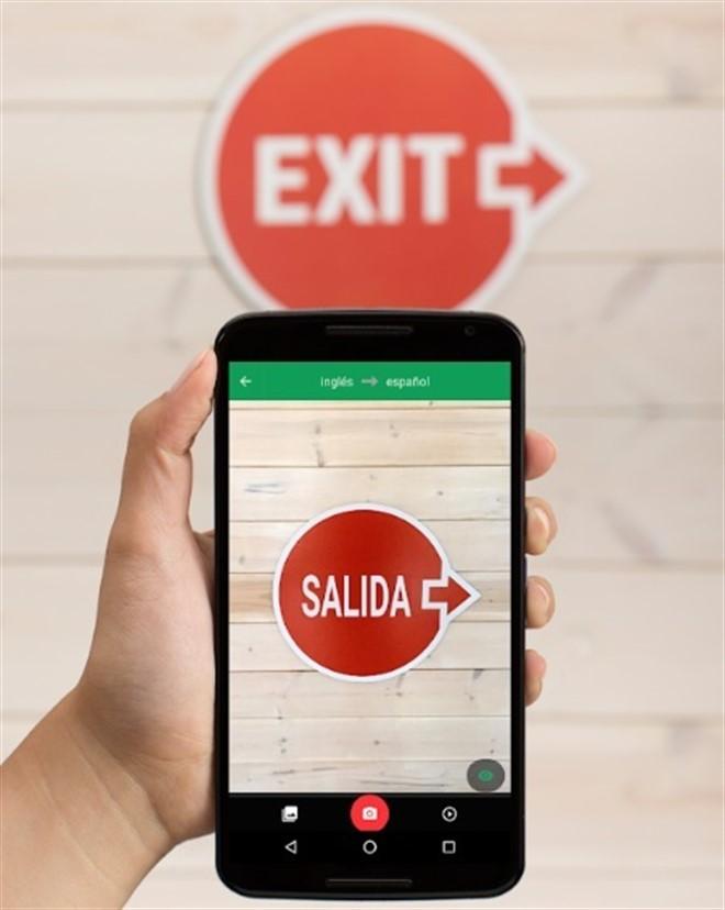Smartphone mostrando una App